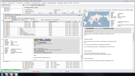 Netpas MMA(Maritime Mail Analyzer) Print Screenshot